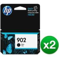 HP 902 High Yield Black Original Ink Cartridge (T6L98AN) (2-Pack)