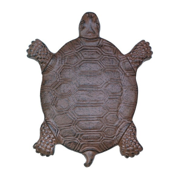 Cast Iron Turtle Garden Stepping Stone
