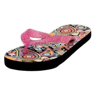 Blazin Roxx Western Shoes Girl Claire Flip Flops Child Pink