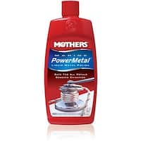 Mothers Polish 91048 8 oz Marine Power Metal Liquid Polish