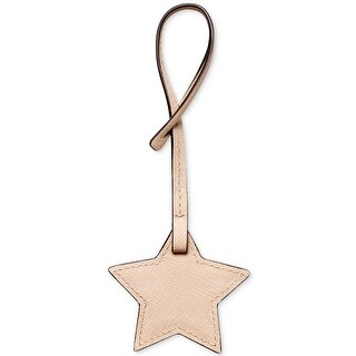 Michael Kors Womens Star Luggage Tags Leather Charm