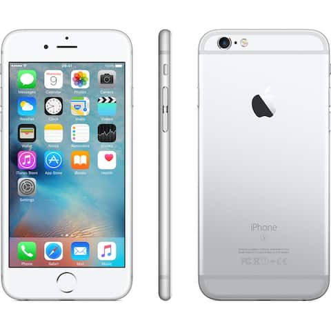 Apple iPhone 6s 32gb Silver Unlocked Refurbished