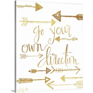 """""""Direction"""" Canvas Wall Art"""