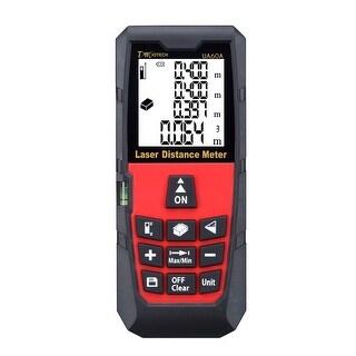 60m/196ft Mini Digital Distance Meter Rangefinder Measure Tape Diastimeter