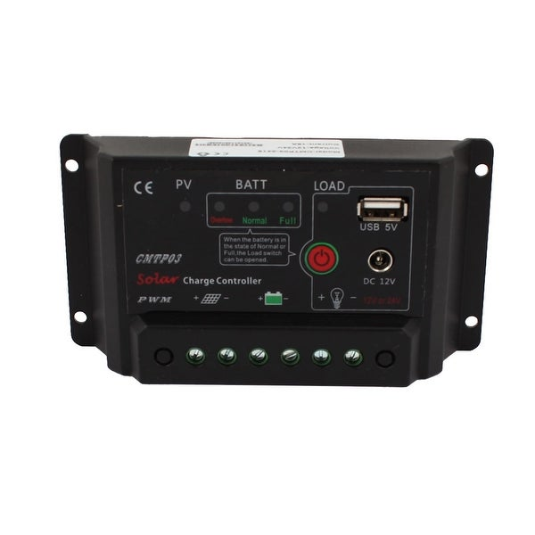 Unique Bargains LED Light Phone Solar Battery Charge PWM Controller Regulator CMTP03-2415