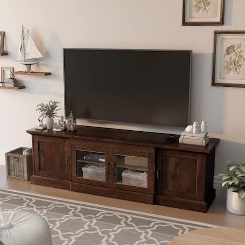 Furniture of America Bick 68-inch Multi-functional Storage TV Console