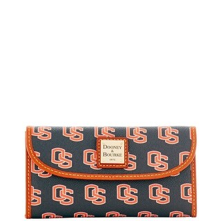 Dooney & Bourke NCAA Oregon State Continental Clutch (Introduced by Dooney & Bourke at $128 in Jul 2015) - Black
