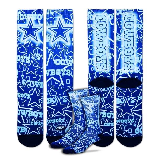 Dallas Cowboys Montage Promo Socks