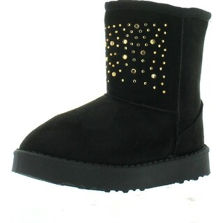 Via Pinky Coco-21F Kid's Big Girls Slip On Winter Boots Comfort Casual Shoes