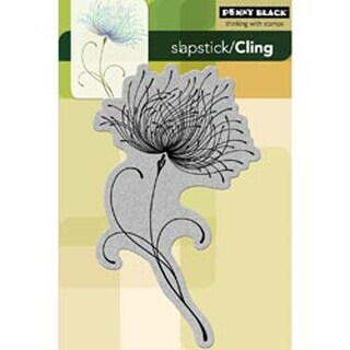 """Dreamy - Penny Black Cling Rubber Stamp 4""""X6"""" Sheet"""