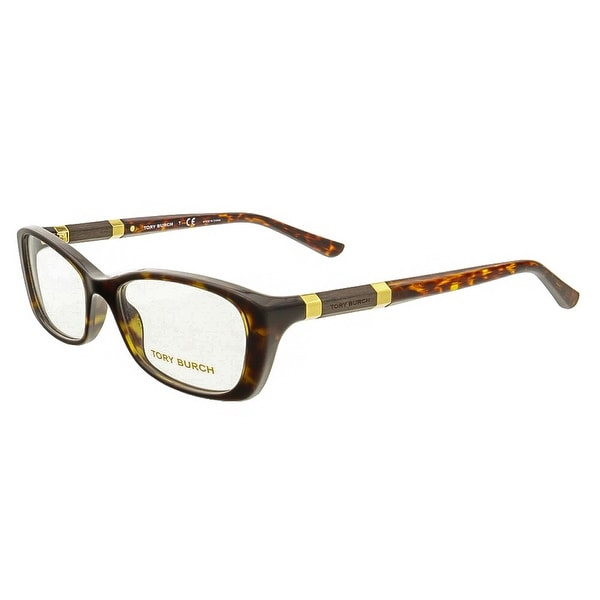 Tory Burch TY2054 1378 Dark Havana Rectangular Opticals - 52-17-135