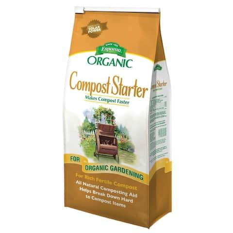 Espoma CS4 Compost Starter Organic All Natural Composting Aid, 4 Lbs