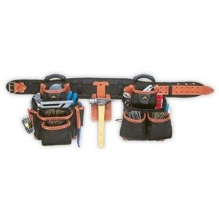 CLC 51452 Pro Framer's Combo Tool Belt, 27 Pocket, Large