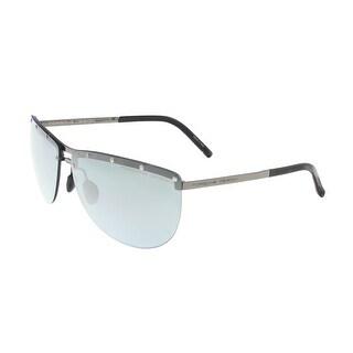 Porsche P8577-B Silver Aviator Sunglasses - 68-12-135