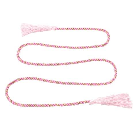 Window Curtain Tieback Tie Back Tassels Trim Rope Cord String 133cm