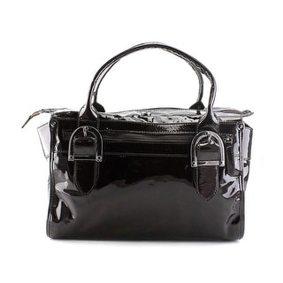 Danbo 7505/184    Patent Leather  Satchel - Brown