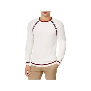 Tommy Hilfiger Mens Caleb Sweater Ribbed Knit Contrast Trim - XxL