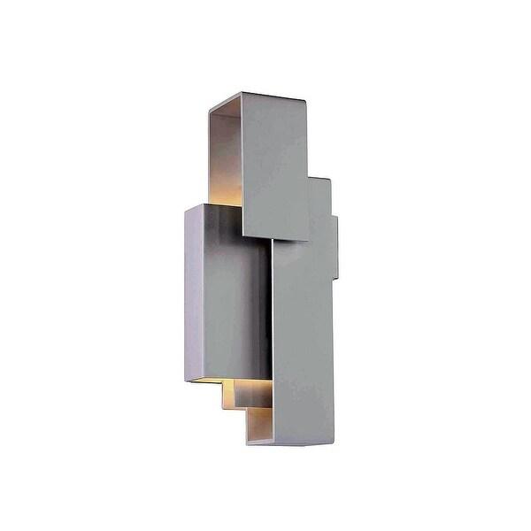 """Modern Forms WS-95614 Escher 1-Light LED ADA Compliant Wall Sconce - 14"""" Tall - n/a"""