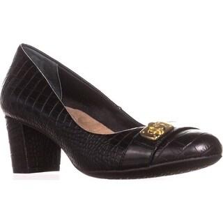 GB35 Lorenn Classic Dress Pumps, Black