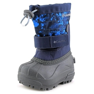 Columbia Powderbug Plus II Print Round Toe Synthetic Snow Boot