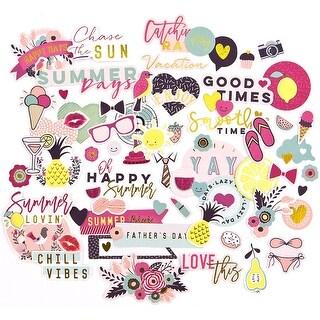 My Prima Planner Ephemera Cardstock Die-Cuts-Good Vibes