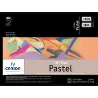 Canson Mi-Teintes Acid-Free Rough Paper Pad, 98 lb, 12 X 16 in, 24 Sheets, Assorted Color