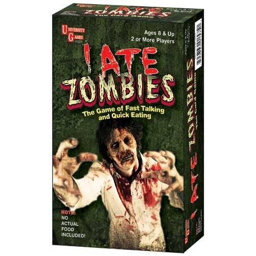 I Ate Zombies Card Game - multi