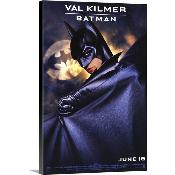 Shop Batman Forever 1995 Canvas Wall Art Overstock 24137487