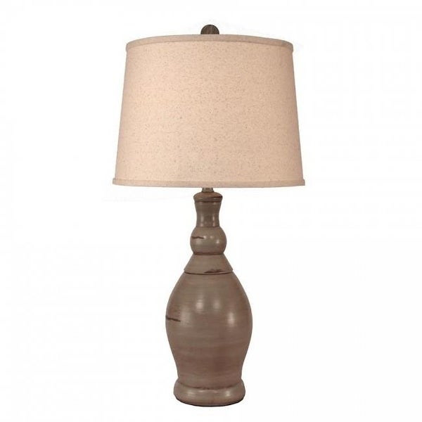 Coast Lamp Manufacturer Oyster Shell Slender Neck Casual Table Lamp