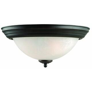 Design House 514489 Millbridge Ceiling Mount Light, Oil Rubbed Bronze