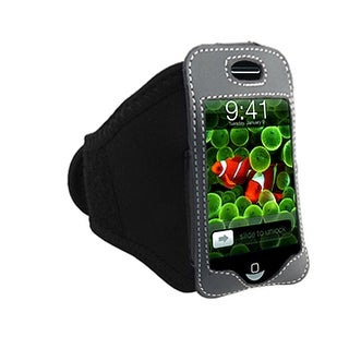 Black Sporty Pouch Case Armband Holder for iPhone 1st Gen