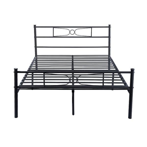 Shop Easy To Assemble Premium Metal Bed Frame Platform