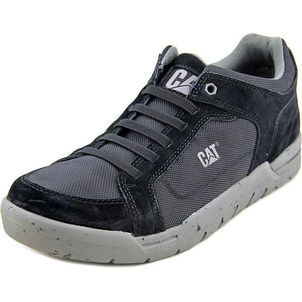Caterpillar Indent Men Round Toe Suede Sneakers