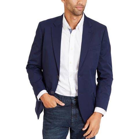 Nautica Mens Clyde Sportcoat Two-Button Travel