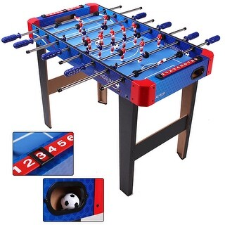 Costway 36'' Foosball Table Arcade Game Christmas Gift Soccer For Kids Indooor Outdoor