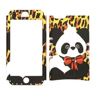 Unlimited Cellular Rocker Snap-On Case for Apple iPhone 5C (Yellow Giraffe with