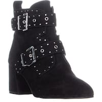 Rebecca Minkoff Logan Studded Ankle Boots, Black - 5.5 us
