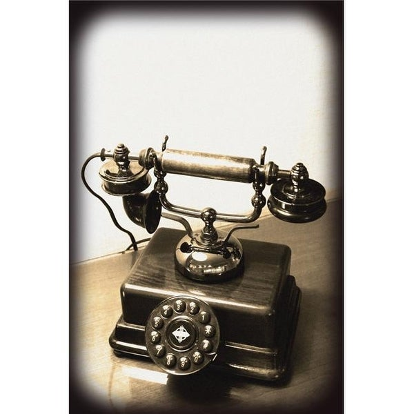 Shop Old Fashioned Telephone Poster Print By Carson Ganci 22 X 34
