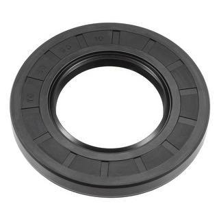 Oil Seal, TC 50mm x 90mm x 10mm, Nitrile Rubber Cover Double Lip - 50mmx90mmx10mm