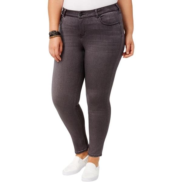 3b9471f2653804 Shop Celebrity Pink Womens Plus Walkers Skinny Jeans Super Soft Mid ...