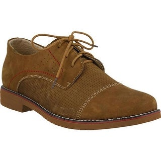 Spring Step Men's Liam Oxford Camel Nubuck