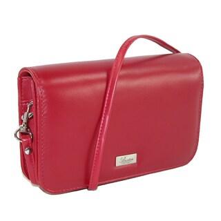 Buxton Women's Synthetic Single Flap Mini Cross Body Handbag - One size (3 options available)