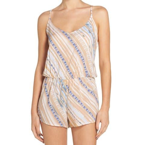 Dolce Vita Women's Small Striped Cover-Up Swimwear
