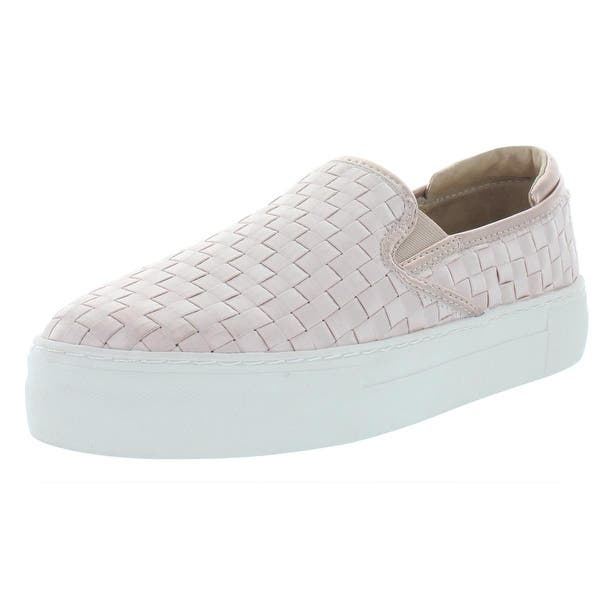 c9858bb3dd6 Shop Steve Madden Womens Monte Fashion Sneakers Satin Slip On - Free ...