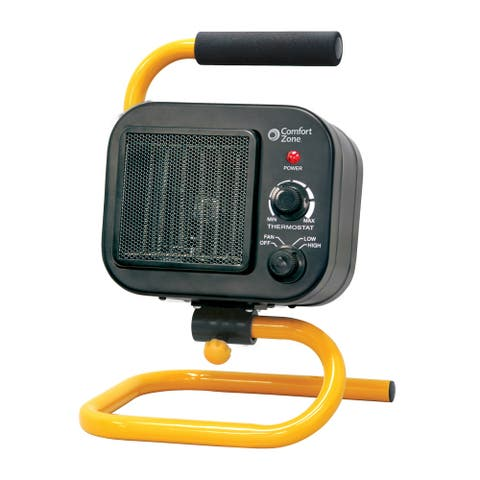Comfort Zone CZ250 Flex Mount Shop Heater with 2-Heat Settings