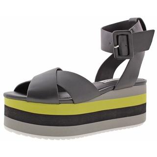 Steve Madden Macer Women's Cuffed Platform Sandals