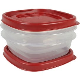 Rubbermaid 1777183 Value Pack Container, 1.25 Cup