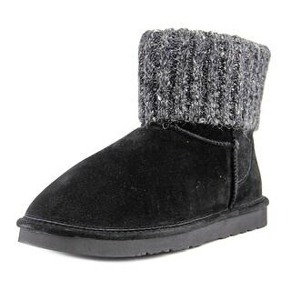 Lamo Lamo Sweater Women Round Toe Leather Winter Boot