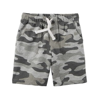 Carter's Baby Boys' French Terry Shorts - Camo- 24 Months