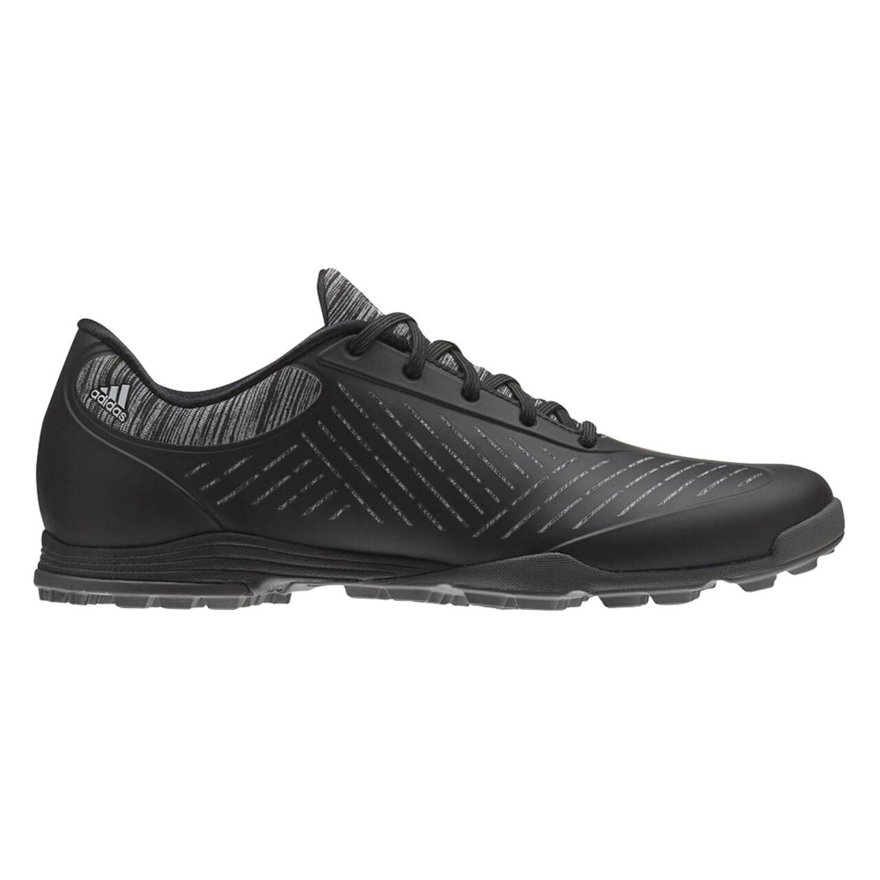 Adidas Women's Adipure Sport 2 Black/Grey/Silver Met Golf Shoes BB8012